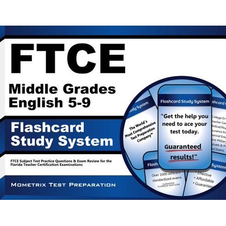 FTCE Middle Grades English 5-9 Flashcard Study System: FTCE Test Practice Questions & Exam Review for the Florida Teacher Certification (Adidas Predator Absolado Lz Trx Fg Review)