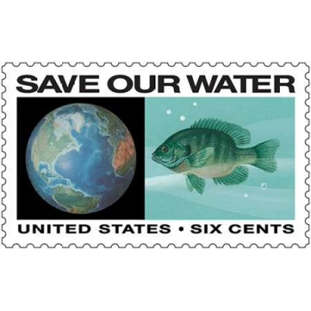 Save Our Water Poster Print By  Us Postal Service