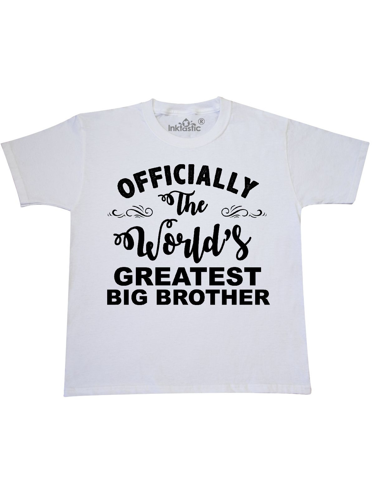 Officially The World's Greatest Big Brother Youth T-Shirt