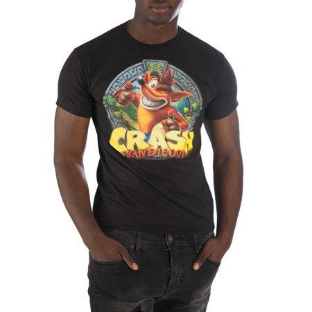 Crash Bandicoot Wink Thumbs Up Shirt For Men-XX-Large (Thumbs Up Thumbs Down)