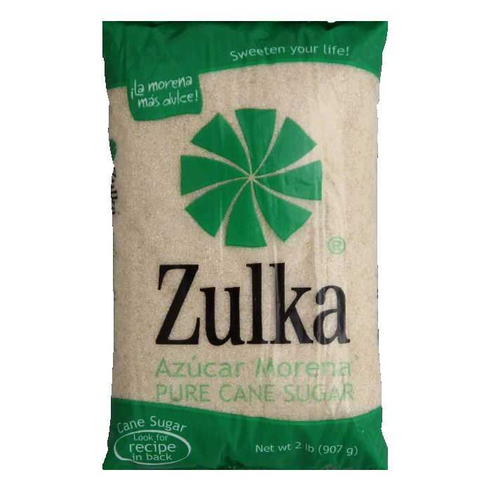 Zulka Mexican Cane Sugar, 2 LB (Pack of 10)