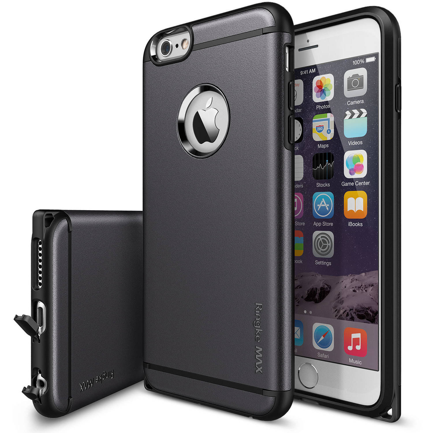 Ringke MAX Case Double-Layer Heavy-Duty Protection Case for Apple iPhone 6 Plus/6S Plus