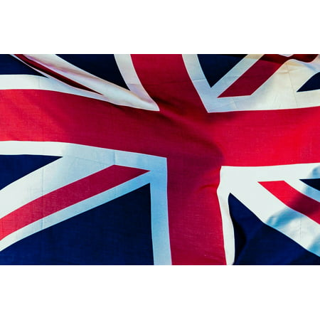 Canvas Print Flag National London Union Jack State British Stretched Canvas 10 x 14