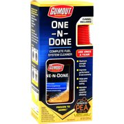 Gumout One-N-Done Complete Fuel System Cleaner - 510112W