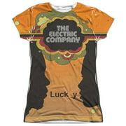 Electric Company Silhouette Blend (Front Back Print) Juniors Sublimation Shirt