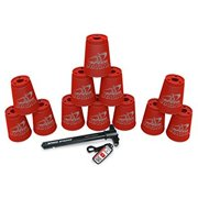 sport stacking with speed stacks cups really red (cup stacking)