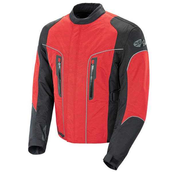 Joe Rocket Alter Ego 3.0 Mens Red Textile Jacket