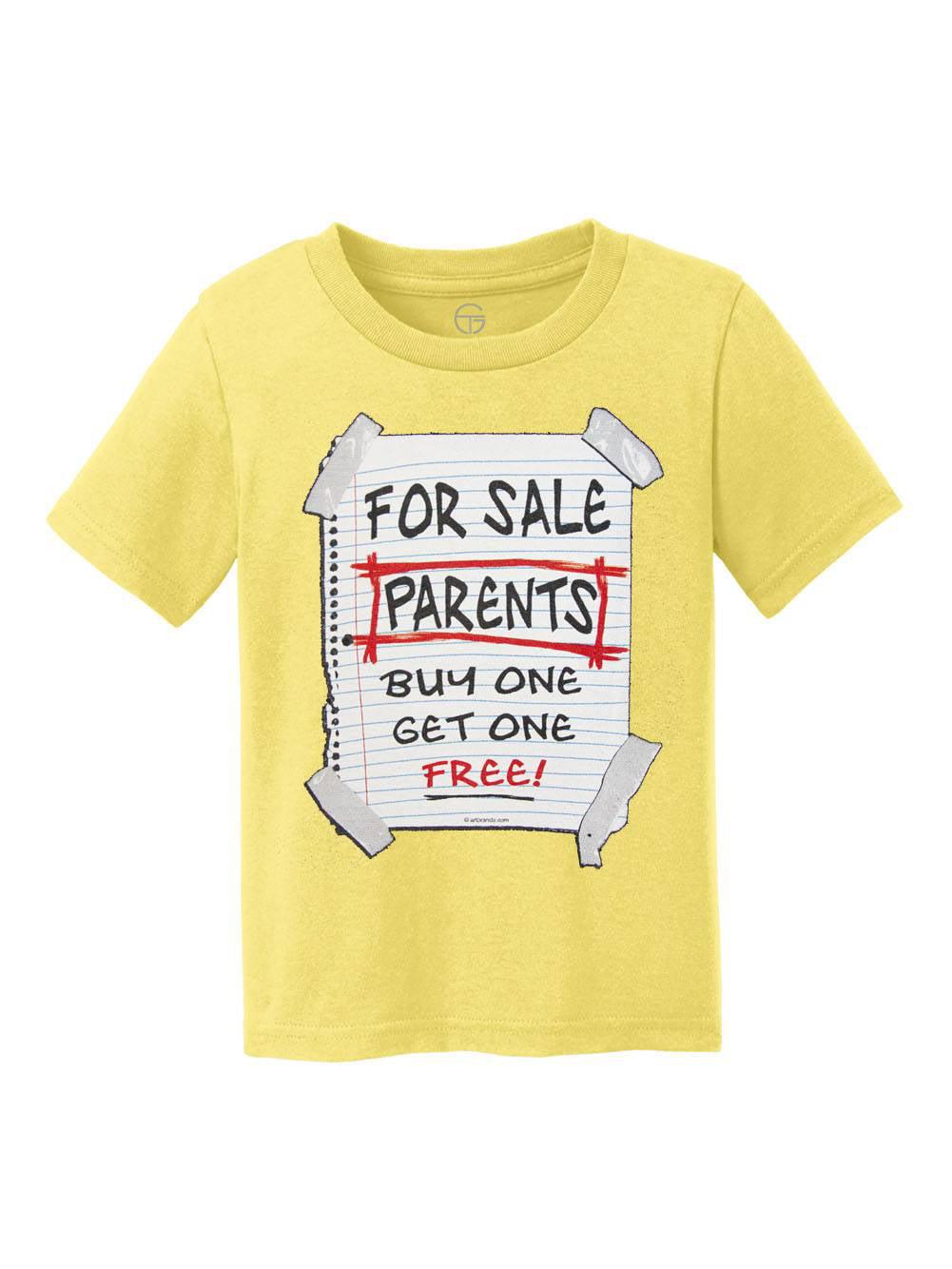 Parents For Sale Youth Cotton T-Shirt