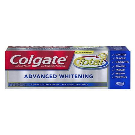 Colgate Total Advanced Whitening Toothpaste - 4 Oz, 2 Pack (Colgate Total Advanced Whitening)