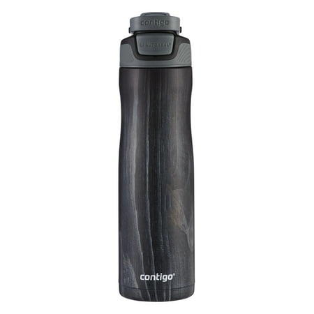 Contigo Autoseal Chill Stainless Steel 24 Ounce Indigo Wood Water Bottle