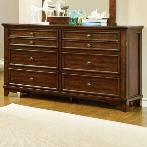 Hokku Designs Branden 6 Drawer Double Dresser