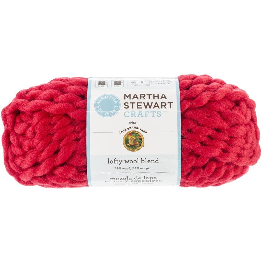 Martha Stewart Lofty Wool Blend Yarn
