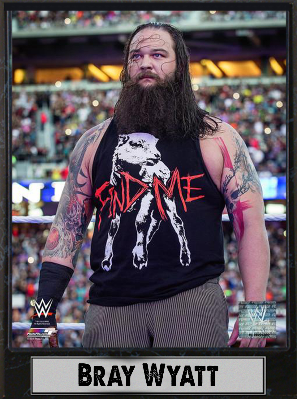 9x12 Photo Plaque Bray Wyatt by Encore Select