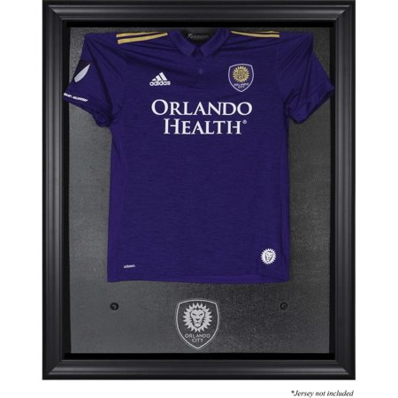 Orlando City SC Black Framed Team Logo Jersey Display Case