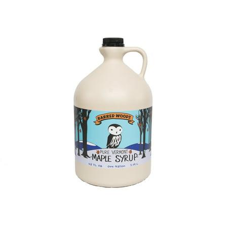 One Gallon (128 oz) Dark Vermont Maple Syrup - Grade A Dark Robust (Former Grade B)