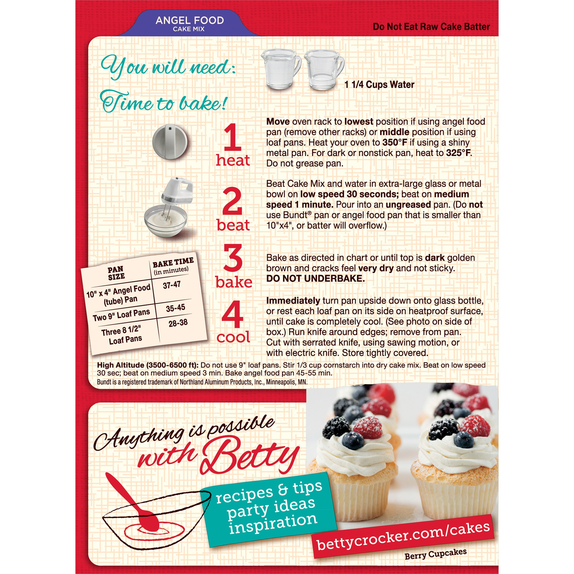 Pillsbury Red Velvet Cake Mix Instructions