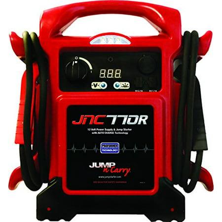 Jump-n-carry 1700 Peak Amp Premium 12-Volt Jump Starter - Red JNC770R