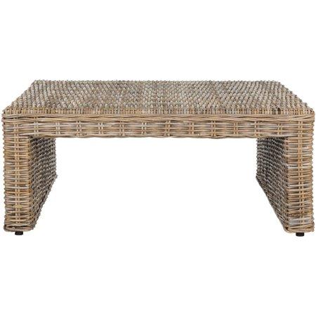 Safavieh Persis Wicker Coffee Table, Natural