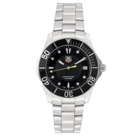 TAG Heuer Men's WAB1110.BA0800 2000 Aquaracer Quartz Watch