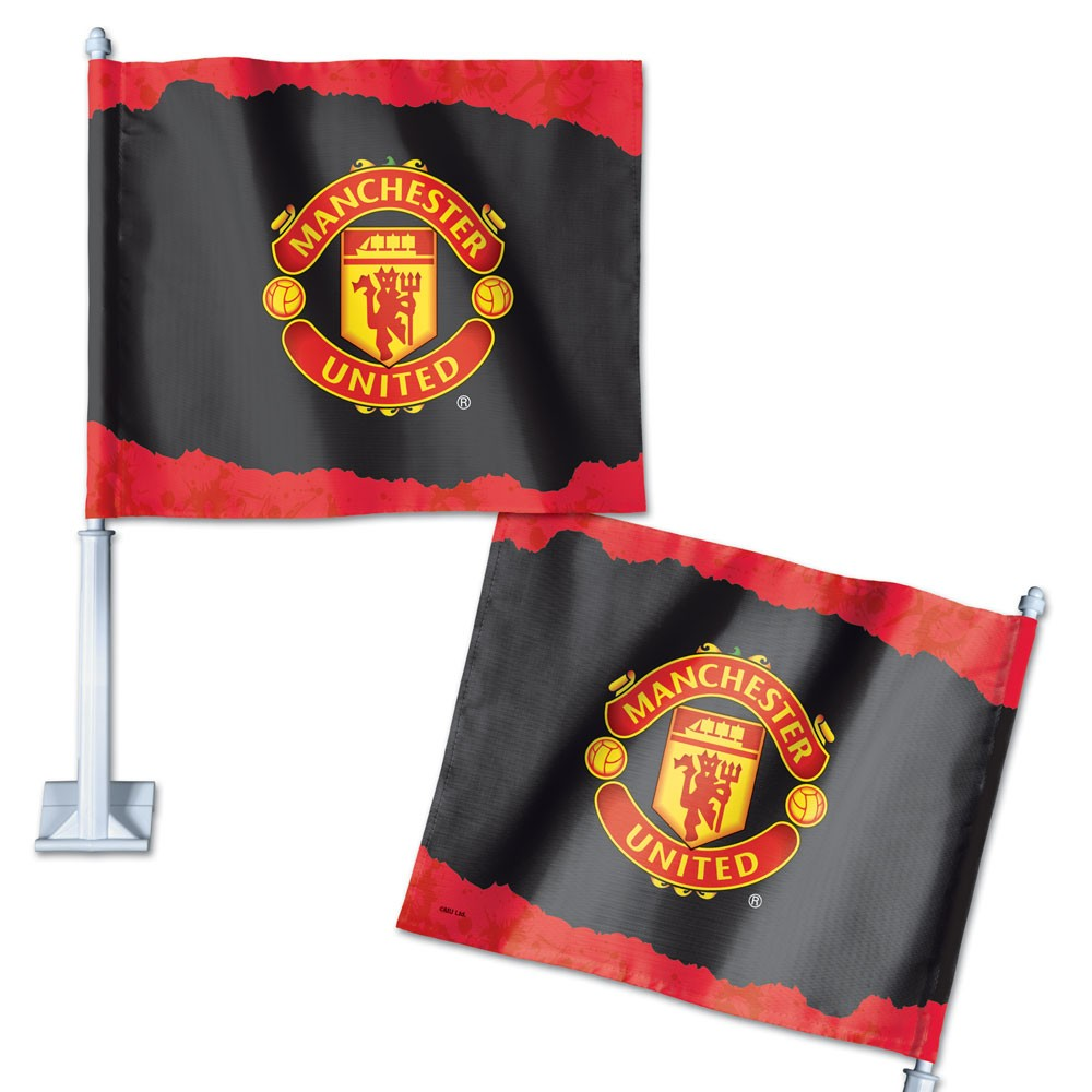 Manchester United Official PREMIER LEAGUE 14 inch  Car Flag by Wincraft