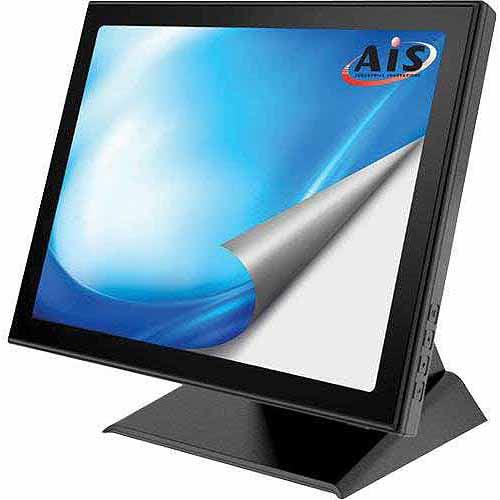"AIS 15"", 1024 x 768 XGA, Multi-Touch Screen Monitor with PCT Touchscreen, VGA and DVI Ports"