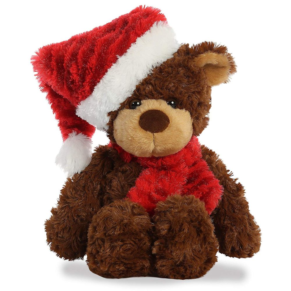 Aurora 99016 Bear with Scarf 13 inch Stuffed Animal