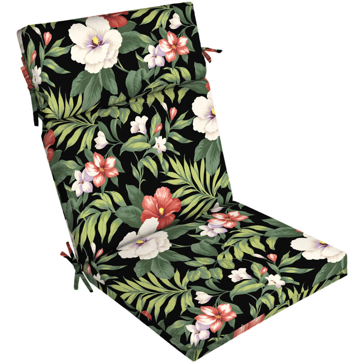 Better Homes And Gardens Outdoor Patio Dining Chair Cushion, Multiple  Patterns