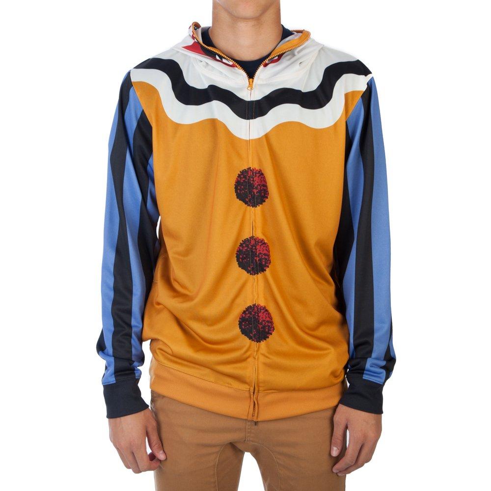 bioworld scary clown menu0027s halloween costume hoodie