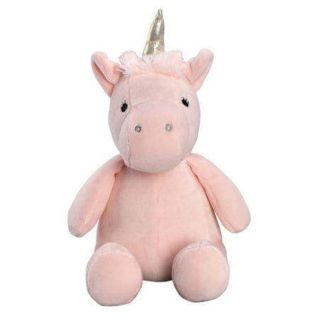Bedtime Originals Rainbow Unicorn Pink/Gold Plush Unicorn Stuffed Animal - Pearl (Unicorn Rainbows)