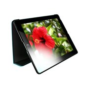 HornetTek Tai-Chi - Protective cover for tablet - textured leather - black, blue - for Apple iPad (3rd generation)