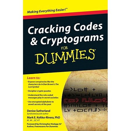 Cracking Codes & Cryptograms for Dummies - Save On Crafts Coupon Code