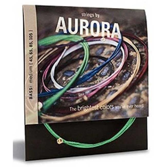Aurora AURAQ13-A Premium Acoustic 13 Gauge Guitar Strings Light, Aqua