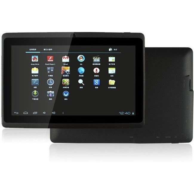 WORRYFREE GADGETS WFGV04RC3 7.0DC_BLK ZEEPAD 7.0 7IN 512M/4G ANDROID