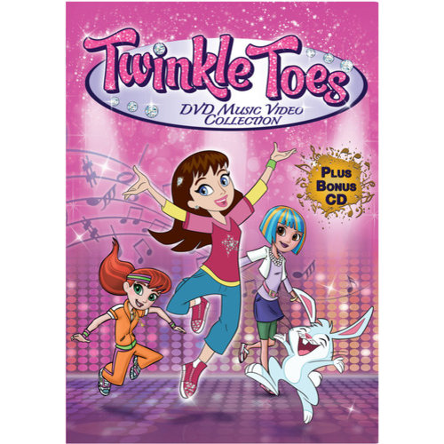 Twinkle Toes: Music Video Collection (DVD + CD)
