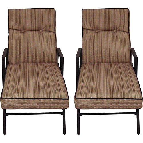 Braddock Heights Woven Chaise Lounges, Set of 2