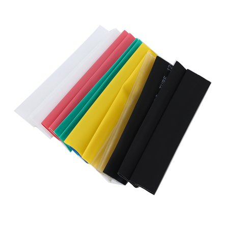 Flame Retardant Cape Sleeve - TOOSN 328pcs / Pack Colorful Insulation Sleeve Flame Retardant Heat Shrinkable Tube
