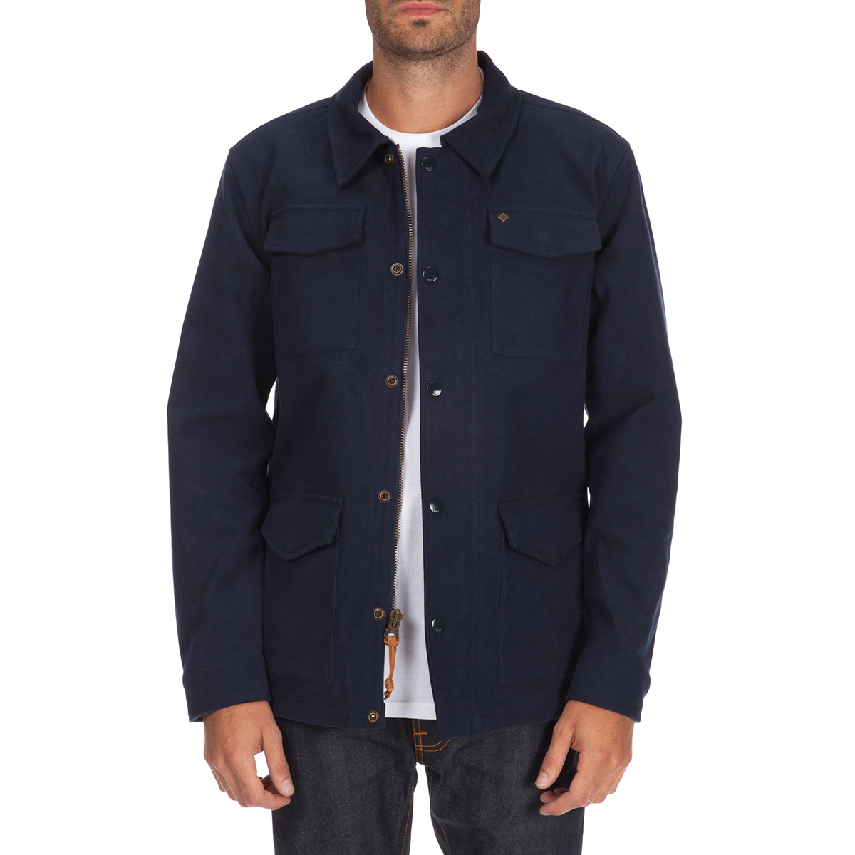 OBEY Men's Westerly Jacket 121800136 Midnight