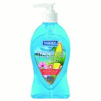 Lucky Super Soft Mermaid Liquid Soap, Anti-Bac., Tropical Beach, 13.5 Oz