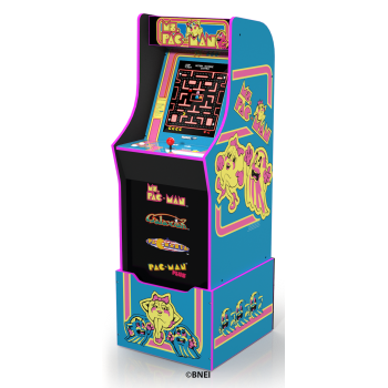 Arcade1Up Ms Pacman Arcade Machine with Riser