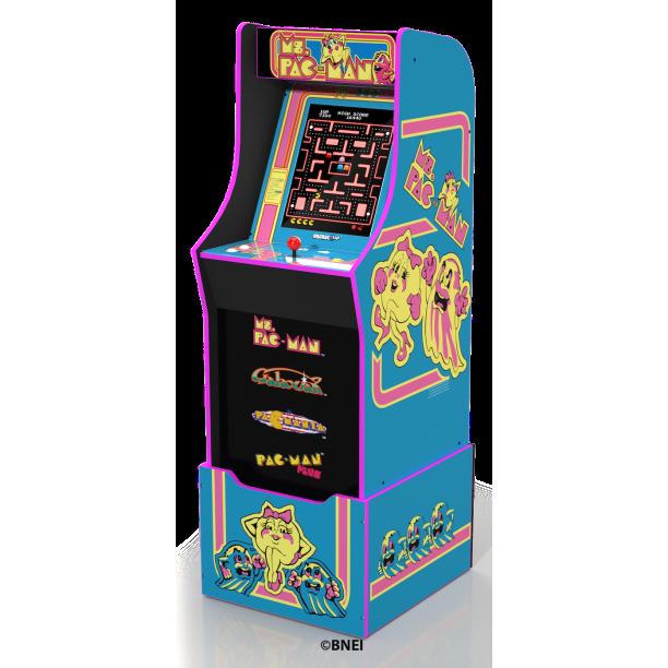Ms Pacman Arcade Machine with Riser, Arcade1Up - Walmart.com
