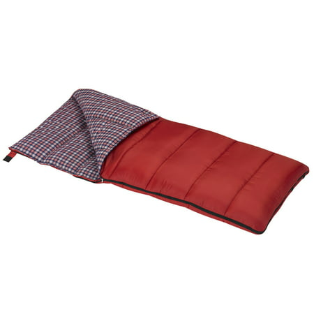 Wenzel Cardinal 30-Degree Sleeping Bag, Red