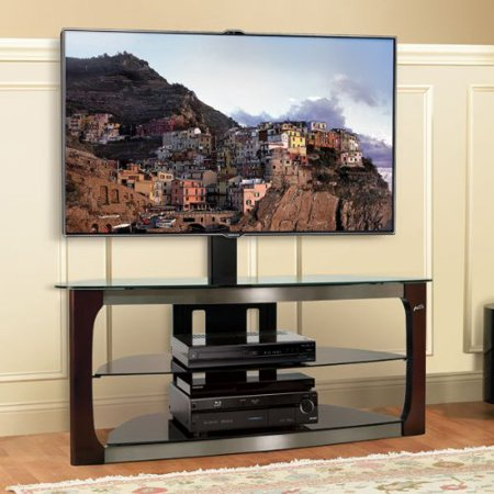Bello Triple Play Flat Panel 3-in-1 TV Stand for TVs up to 52