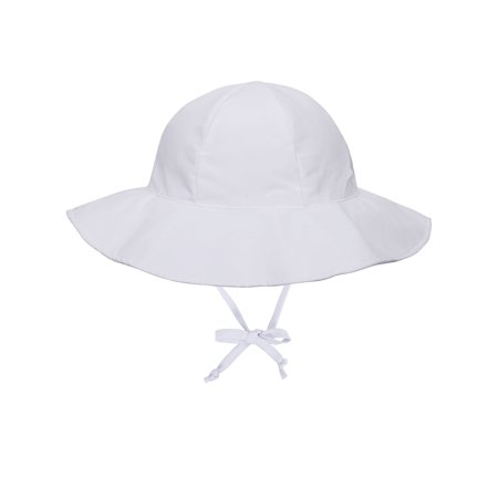Girls UPF 50+ UV Sun Ray Protection Hat Bucket Baby Sun Hat White - White Bucket Hats