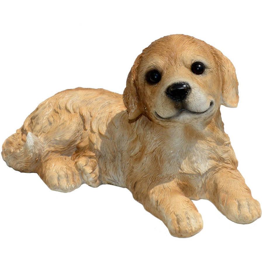 """Michael Carr Designs 12.5"""" Goldie Golden Retriever Puppy"""