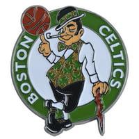 "Boston Celtics Color Emblem 3""x3"""
