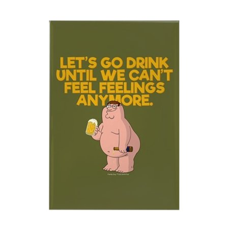 CafePress - Family Guy Go Drink - Rectangle Magnet, 2