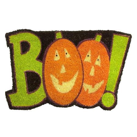 Halloween Pumpkin Coir Doormat 18