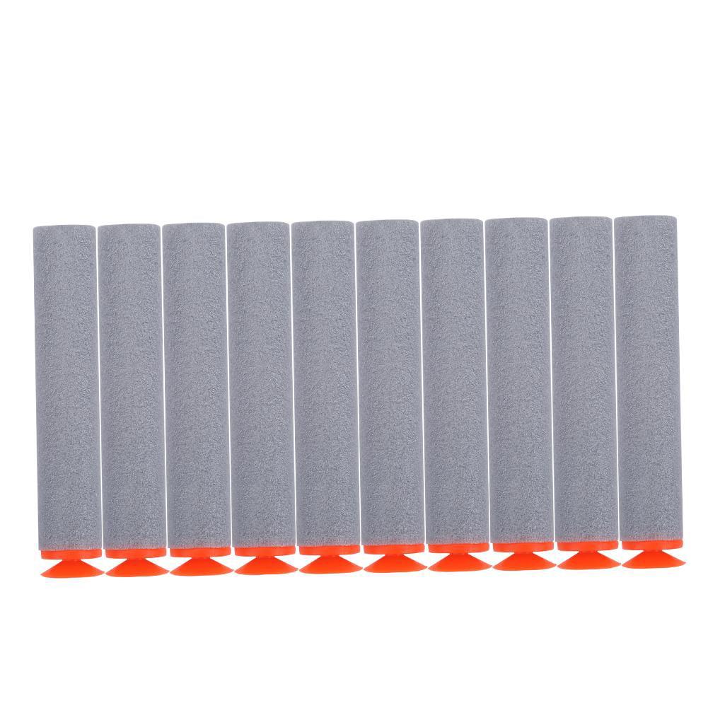 HURRISE 100pcs EVA Foam Toy Soft Refill Bullets Darts for Elite Series
