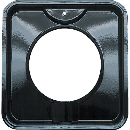 Range Kleen Small Porcelain Gas Drip Pan Style I