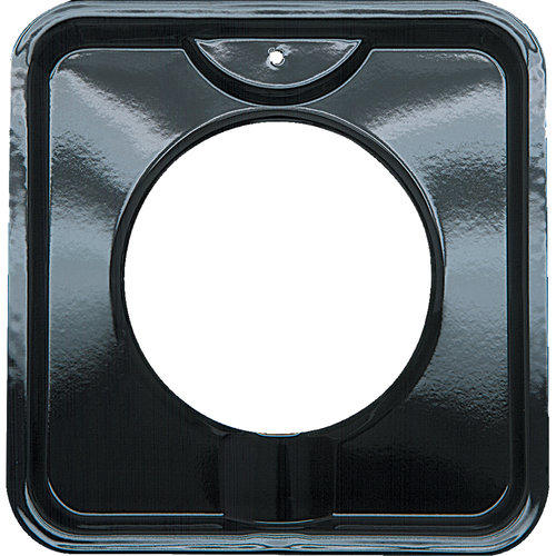 Range Kleen Small Porcelain Gas Drip Pan, Style I